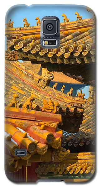 China Forbidden City Roof Decoration Galaxy S5 Case
