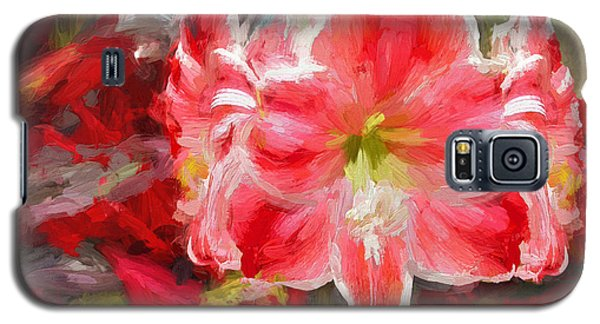 Christmas Lilies Galaxy S5 Case