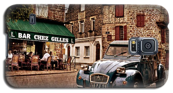 Citroen 2cv In French Village / Meyssac Galaxy S5 Case