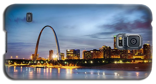 City Of St. Louis Skyline. Image Of St. Louis Downtown With Gate Galaxy S5 Case