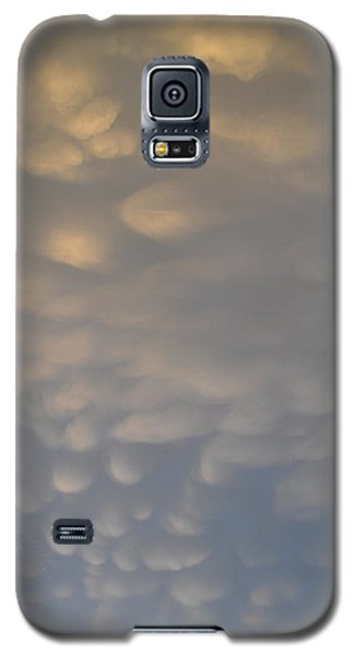 Galaxy S5 Case featuring the photograph Clouds Above  by Lyle Crump