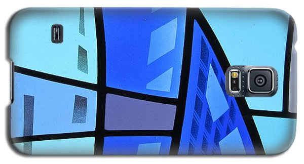 Coal Harbour Triptych Part 1 Galaxy S5 Case by Gilroy Stained Glass
