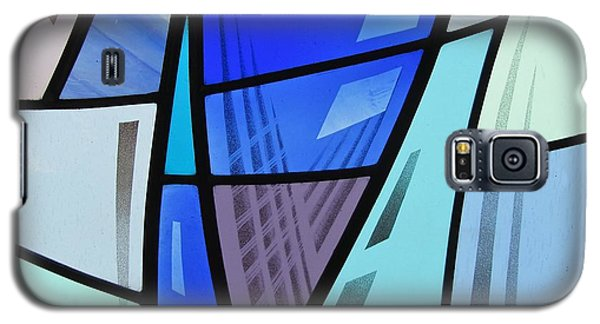 Coal Harbour Triptych Part 2 Galaxy S5 Case by Gilroy Stained Glass