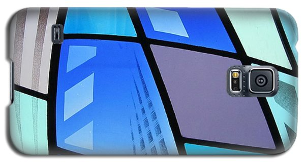 Coal Harbour Triptych Part 3 Galaxy S5 Case by Gilroy Stained Glass