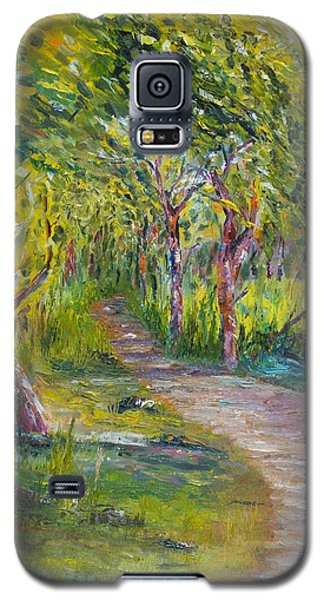Coastal Path Galaxy S5 Case
