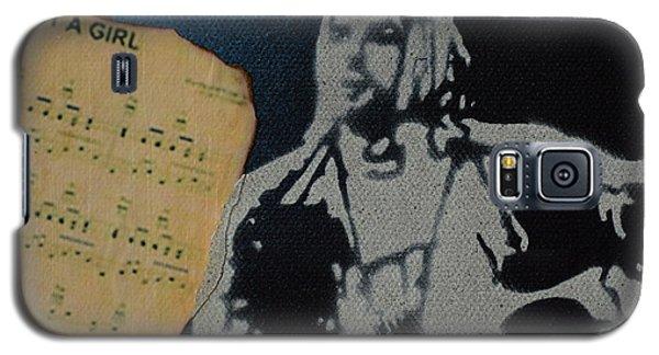 Cobain Spray Art Galaxy S5 Case