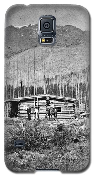 Galaxy S5 Case featuring the photograph Colorado Miners by Granger