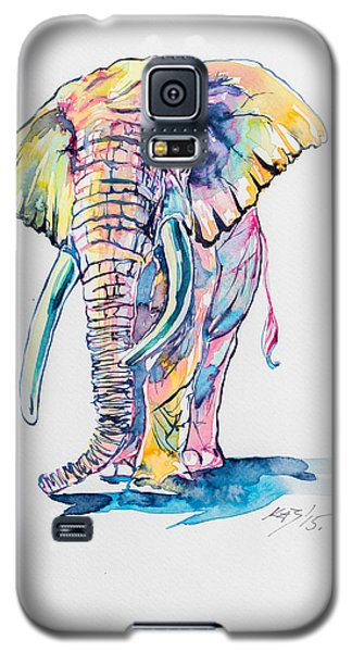Colorful Elephant Galaxy S5 Case