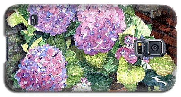 Corner Garden Galaxy S5 Case by Barbara Jewell