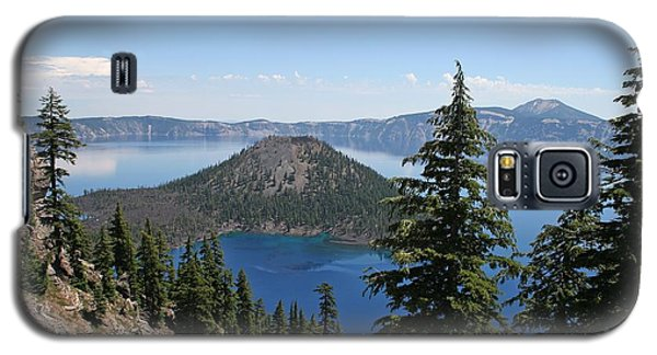 Crater Lake Oregon Galaxy S5 Case by Tom Janca