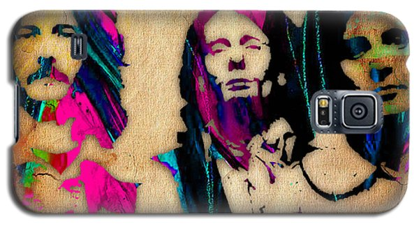 Cream Eric Clapton Jack Bruce Ginger Baker Galaxy S5 Case by Marvin Blaine