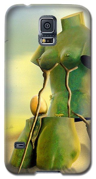 Crutches Galaxy S5 Case by Mike McGlothlen