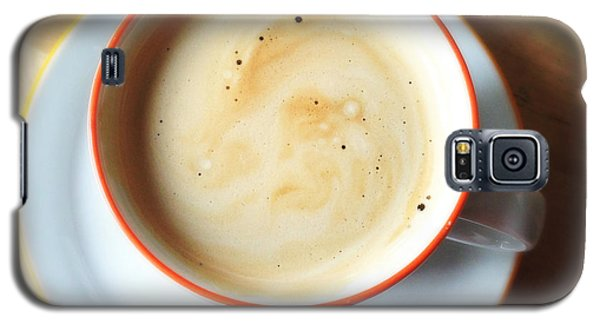 Orange Galaxy S5 Case - Cup Of Coffee by Matthias Hauser
