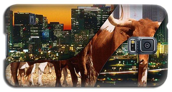 Dallas Texas Skyline Galaxy S5 Case by Marvin Blaine