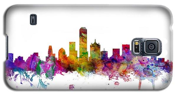 Dallas Texas Skyline Galaxy S5 Case by Michael Tompsett