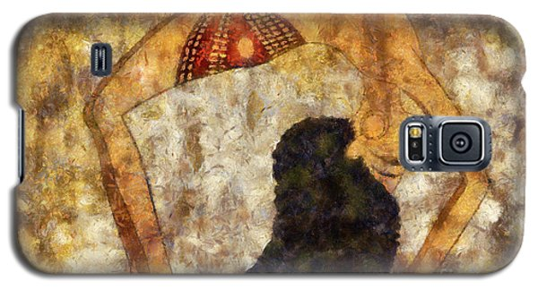 dancer of ancient Egypt Galaxy S5 Case by Michal Boubin