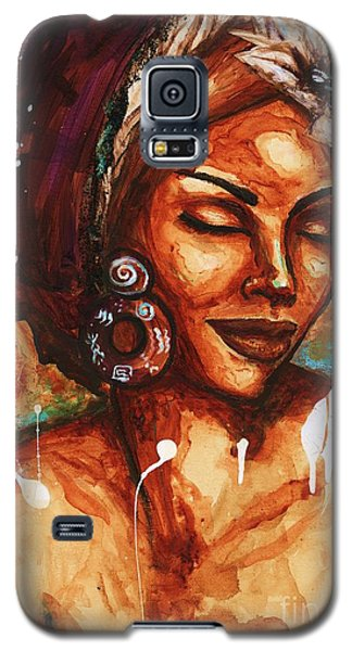 Galaxy S5 Case featuring the painting Daydreaming Too by Alga Washington