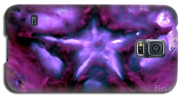 Galaxy S5 Case featuring the mixed media Deep Star by Steed Edwards
