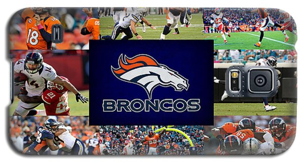 Denver Broncos Galaxy S5 Case by Joe Hamilton