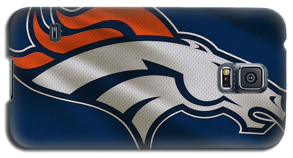 Denver Broncos Uniform Galaxy S5 Case by Joe Hamilton