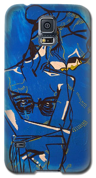 Dinka Painted Lady - South Sudan Galaxy S5 Case