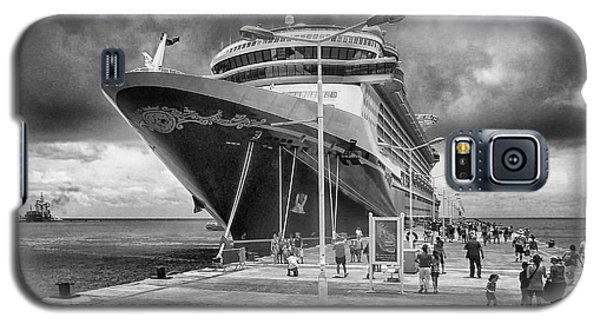 Galaxy S5 Case featuring the photograph Disney Fantasy by Howard Salmon