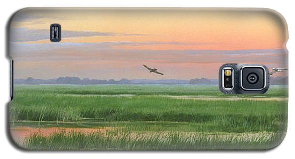Galaxy S5 Case featuring the painting Divine Whisper by Mike Brown