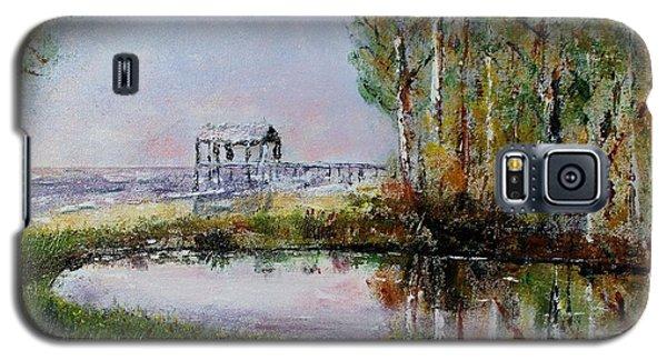 Fairhope Al. Duck Pond Galaxy S5 Case by Melvin Turner
