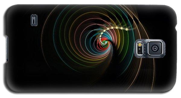 Galaxy S5 Case featuring the digital art Elegance by Hanza Turgul