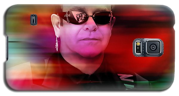 Elton John Galaxy S5 Case by Marvin Blaine
