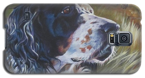 English Setter Galaxy S5 Case