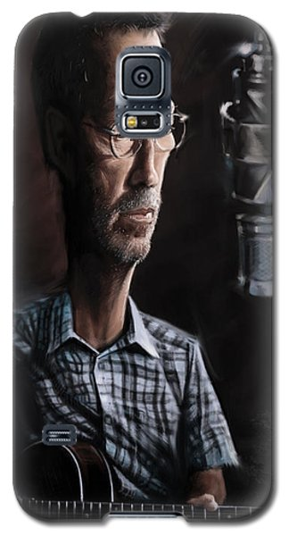Eric Clapton Galaxy S5 Case by Andre Koekemoer