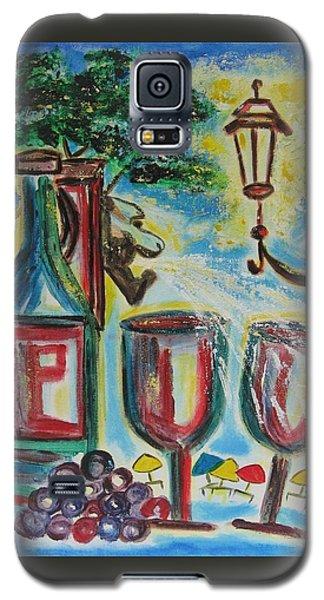 European Wine Galaxy S5 Case by Diane Pape