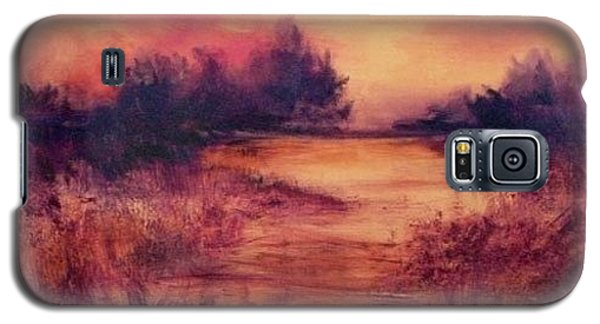 Evening Amber Galaxy S5 Case by Glory Wood
