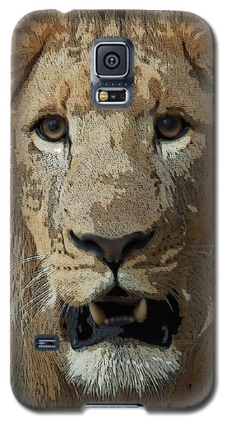 Eye Contact Galaxy S5 Case by Joseph G Holland