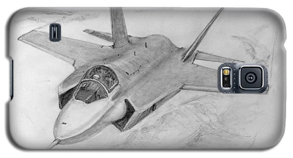 F-35 Joint Strike Fighter Galaxy S5 Case by Jim Hubbard