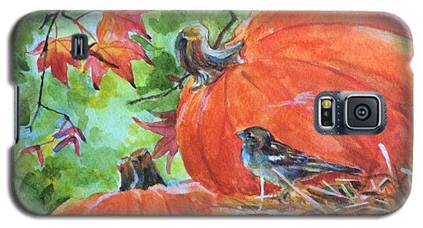 Fall Is Here Galaxy S5 Case by Jieming Wang