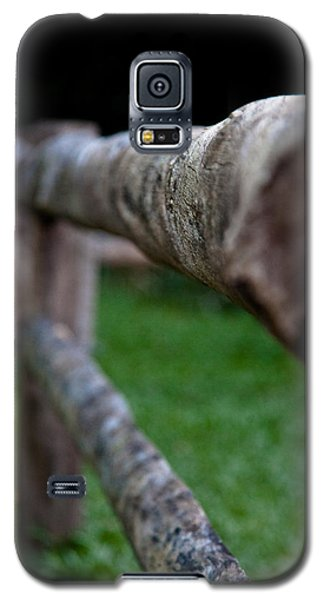 Galaxy S5 Case featuring the photograph Farm Fence by Carole Hinding