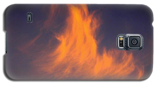 Galaxy S5 Case featuring the photograph Fire In The Sky by Jeanette C Landstrom