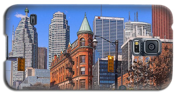 Flatiron Building In Toronto Galaxy S5 Case