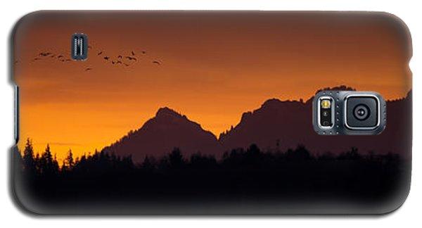 Flight To Saddle Mountain Galaxy S5 Case