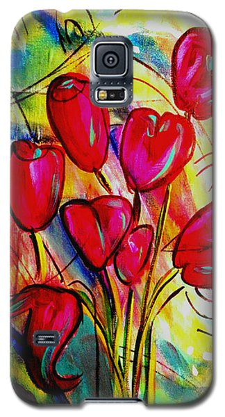 Flowers For M Galaxy S5 Case