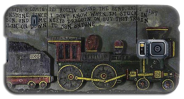 Folsom Prison Train Galaxy S5 Case by Eric Cunningham