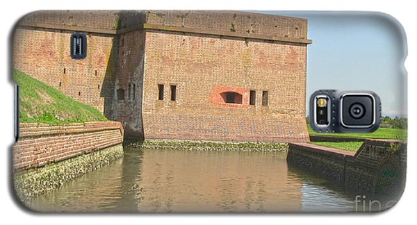 Fort Pulaski Moat System Galaxy S5 Case by D Wallace