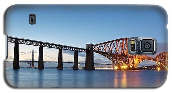Forth Rail Bridge Galaxy S5 Case by Stephen Taylor