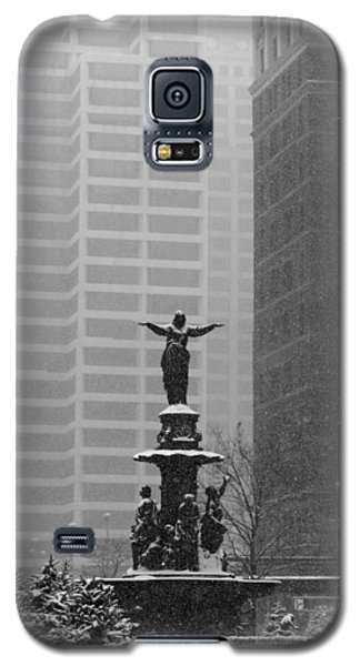 Fountain Square Galaxy S5 Case by Scott Meyer