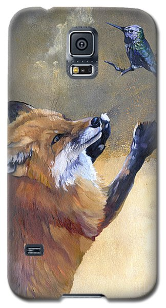 Fox Dances For Hummingbird Galaxy S5 Case
