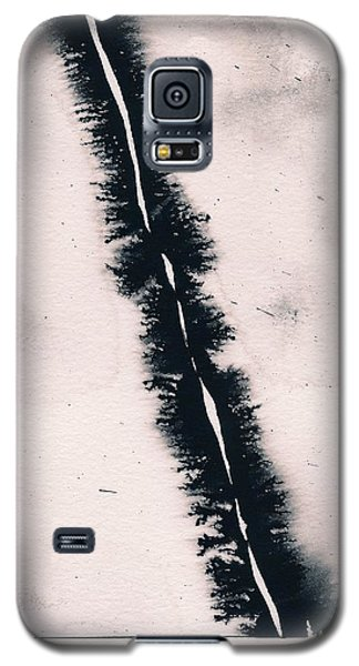 Galaxy S5 Case featuring the painting Fracture by Marc Philippe Joly