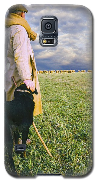 French Shepherd Galaxy S5 Case by Chuck Staley