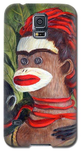 With Love To The Artist Frida Kahlo Galaxy S5 Case